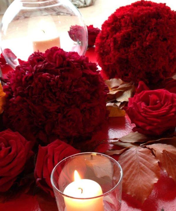 red swarowski | cerrone nozee wedding boutique