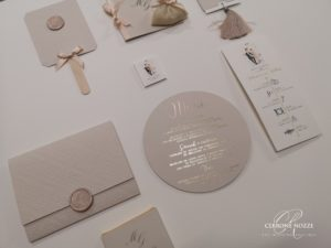 wedding stationery stampa a caldo hotfoil letterpress | Cerrone Nozze wedding boutique