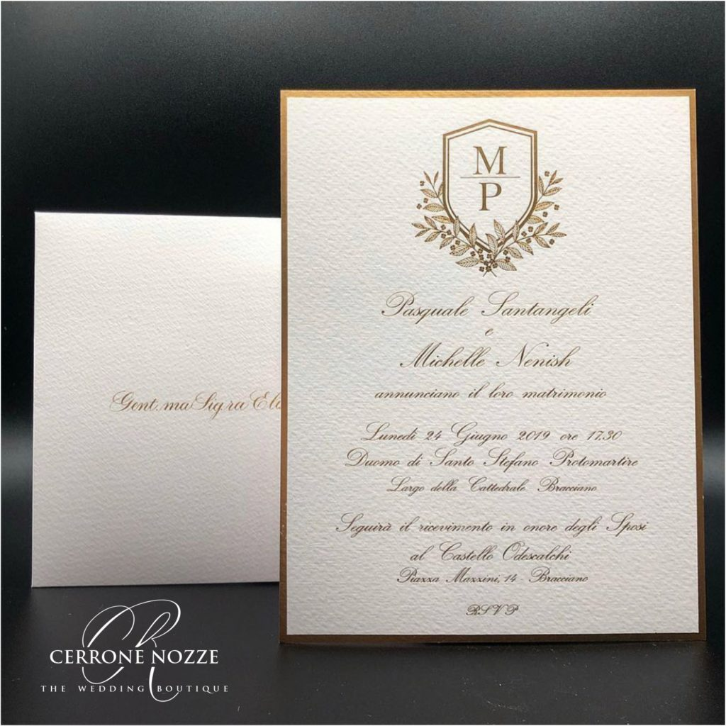 the wedding logo | CerroneNozze - wedding boutique